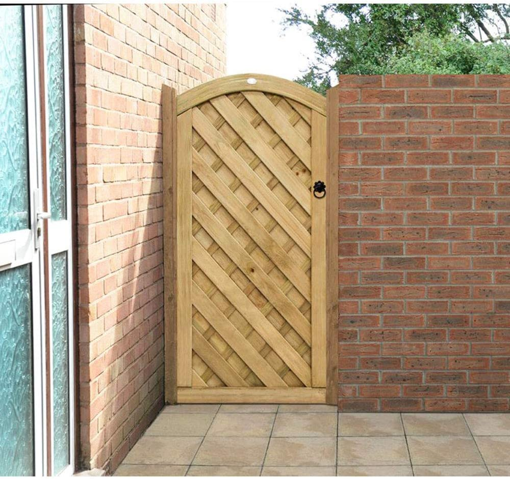 Forest Garden Heavy Duty Pressure Treated Featheredge Gate 6ft 1.80m high