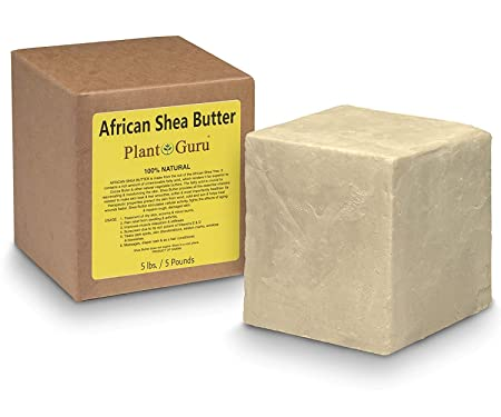 Shea Butter Raw Unrifend 100 Organic Pure 5 lbs