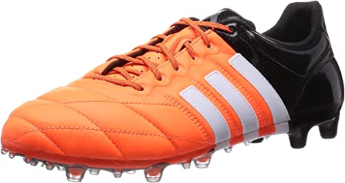 adidas Ace 15.1 FG//AG J Leather Boys Orange