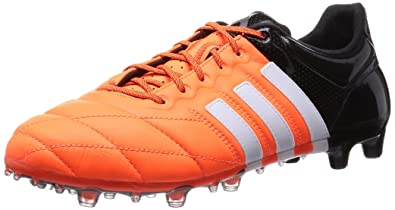 e9562ad3cc1 adidas Performance Men quot s ACE15.1 FG AG Leather Football Training Shoes