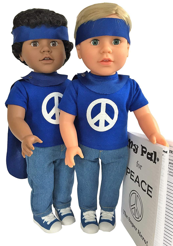 My Pal for Peace、スーパーヒーロー18インチ人形 ライトスキンカラー   B07BJD4JYC