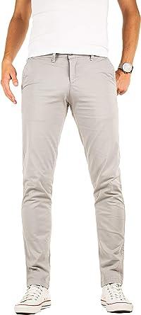 Yazubi Pantalon Chino Homme Slim Luke Business