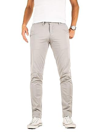 prix de détail 100% de qualité supérieure Promotion de ventes Yazubi Pantalon Chino Homme Slim Luke Business Casual