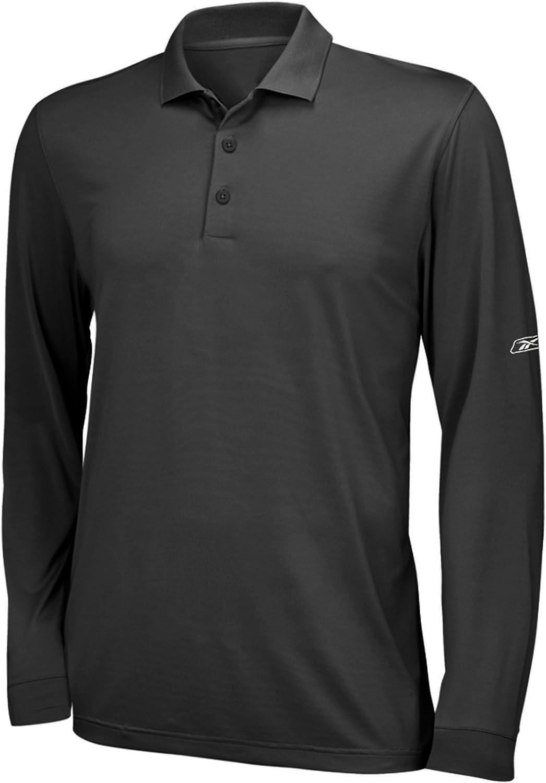 Mens Fashion Cotton Sewn Stripe Long Sleeve Sports Polo Shirt