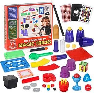 Vanplay Trucos de Magia Incluir Más de 75 Juegos de Magia para Niños de 6+ Años: Amazon.es: Juguetes y juegos