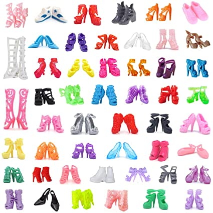 """5Pairs//lot Random Fashion Doll Shoes For 11.5/"""" Doll Boots Booties Accessories"""