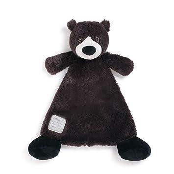 Amazon.com: Demdaco oso de peluche, color negro: Baby