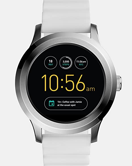 13c038cd5f07 Smartwatch Fossil Q Founder 2.0 Gen 2 FTW2115 Blanco  Amazon.com.mx ...
