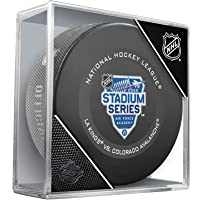 Los Angeles Kings vs. Colorado Avalanche 2020 NHL Stadium Series Unsigned Official Game Puck - Fanatics Authentic Certified