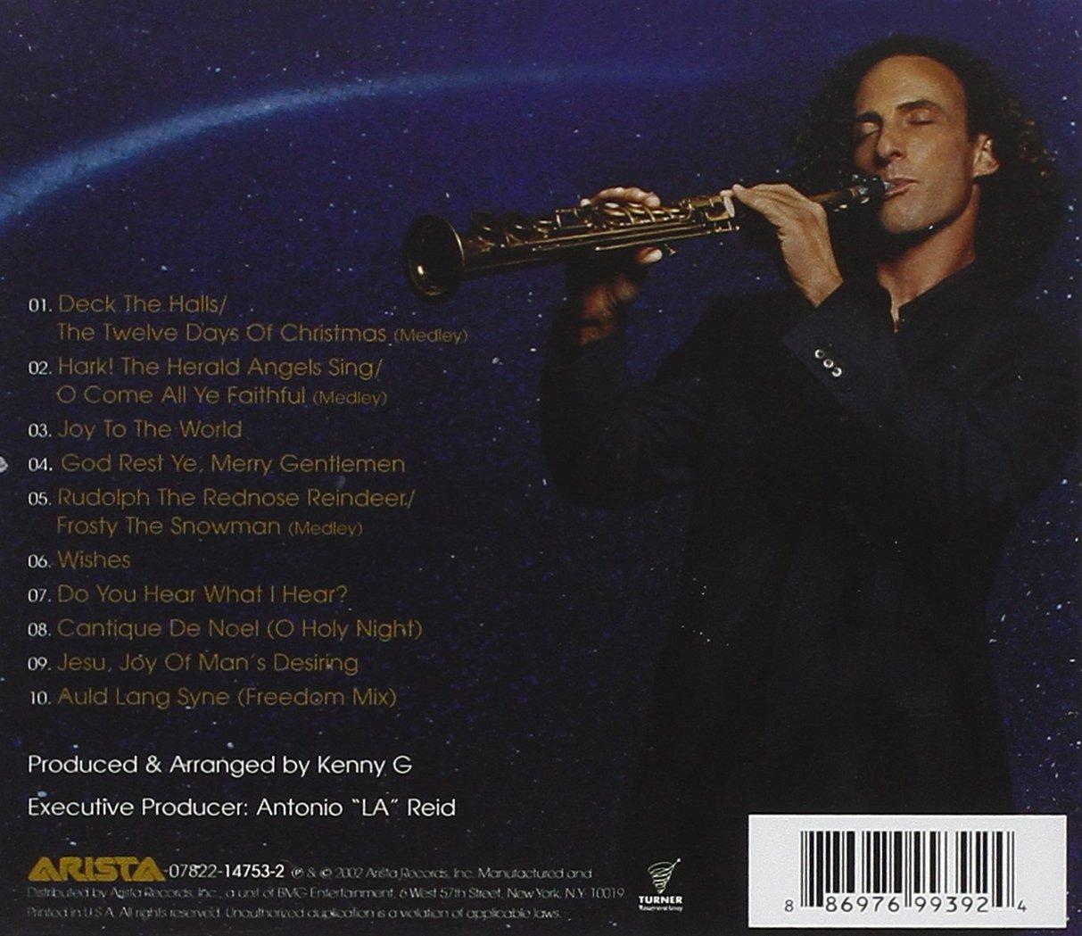 kenny g wishes a holiday album amazoncom music