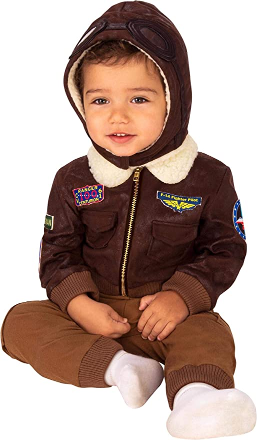 1940s Children's Clothing: Girls, Boys, Baby, Toddler Rubies Baby Aviator Costume As Shown Infant $24.63 AT vintagedancer.com