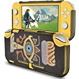 DLseego Protective Case for Nintendo Switch Lite of Zelda Breath of The Wild,Hard PC Shock-Absorption and Anti-Scratch Design