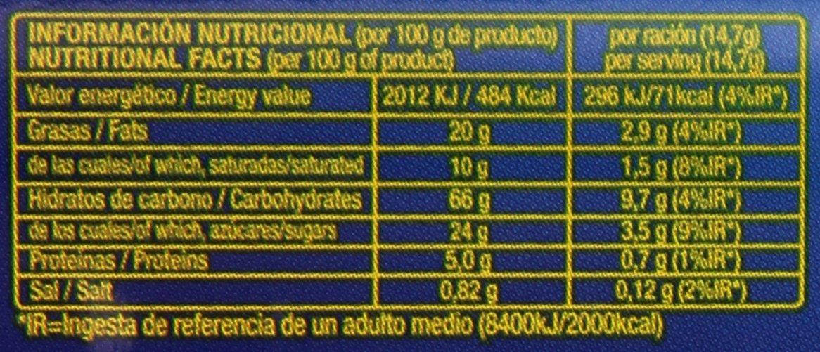 Gourmet - Chocowheel - Galletas rellenas sabor chocolate - 250 g: Amazon.es: Alimentación y bebidas
