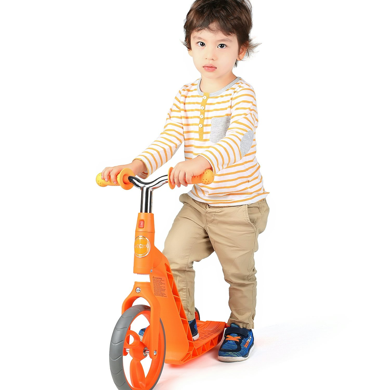 Verde Vokul Gh05 Bicicleta sin Pedales Patinetes para ni/ños