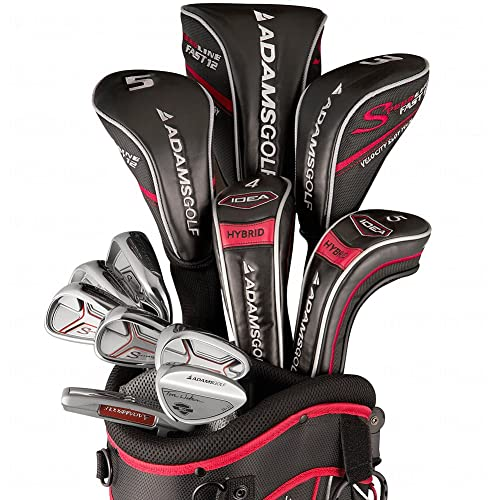 ADAMS Speedline Plus Package Set, 12 Clubs and Bag