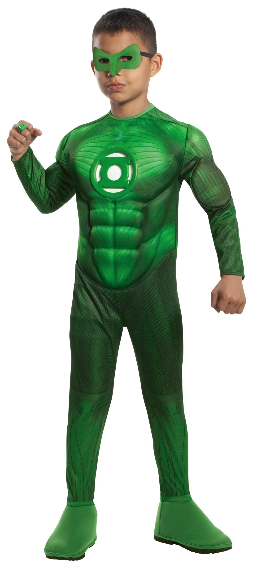 Deluxe Muscle Chest Hal Jordan Costume - Large