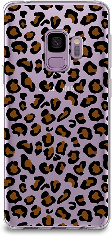 Official Haroulita Leopard Animal Prints Leather Book Wallet Case Cover Compatible For Samsung Galaxy S9