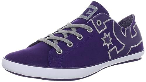 DC Shoes - Zapatillas para mujer, color Black/Purple, talla 37.5