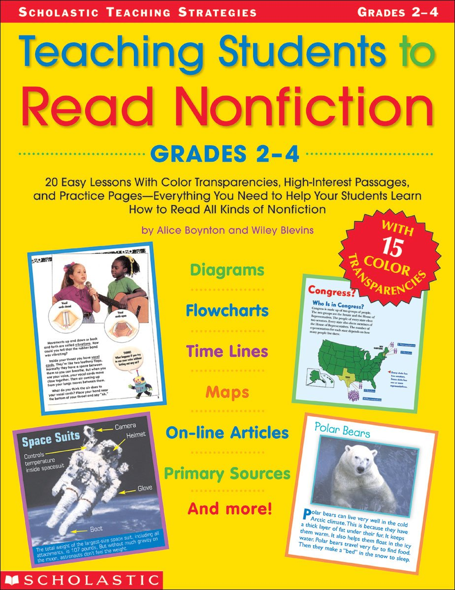 Download Teaching Students To Read Nonfiction: Grades 2-4 (Teaching Strategies) ebook