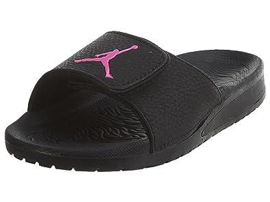 11abceaaf55d Jordan Kids Hydro 6 GP Sandal Black Hyper Pink Size 1