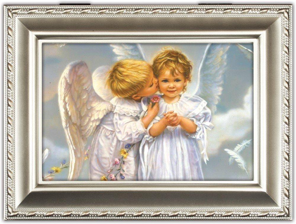 [宅送] Angel KissesシャンパンシルバーInspirational Cottage Garden Traditional MusicボックスPlays MusicボックスPlays Cottage Amazing Grace Grace B0090R4NE8, キタミシ:03ea9554 --- arcego.dominiotemporario.com