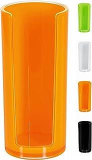 Spirella 10.17766 - Dispensador para discos de algodón, color naranja