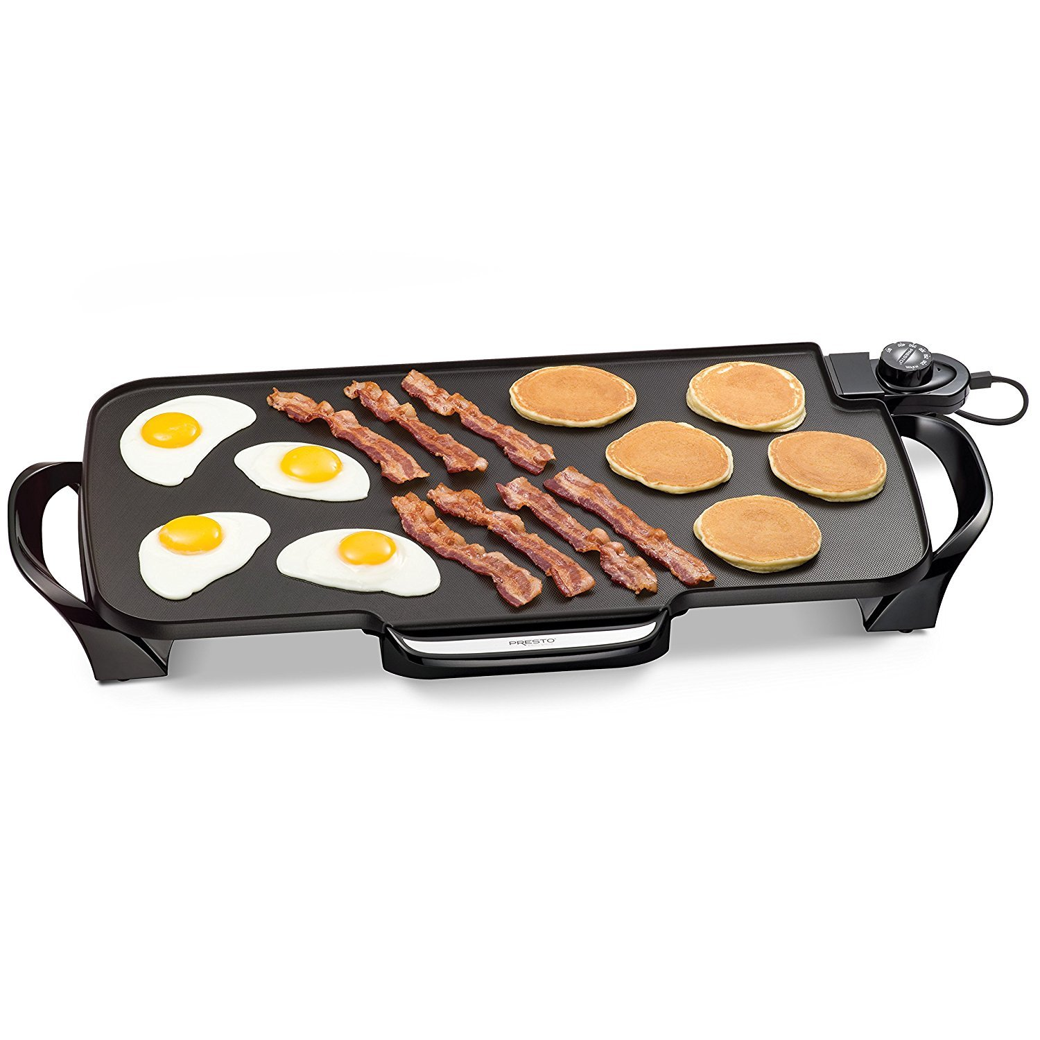 Presto 22-inch Electric Griddle Comes With Removable Handles