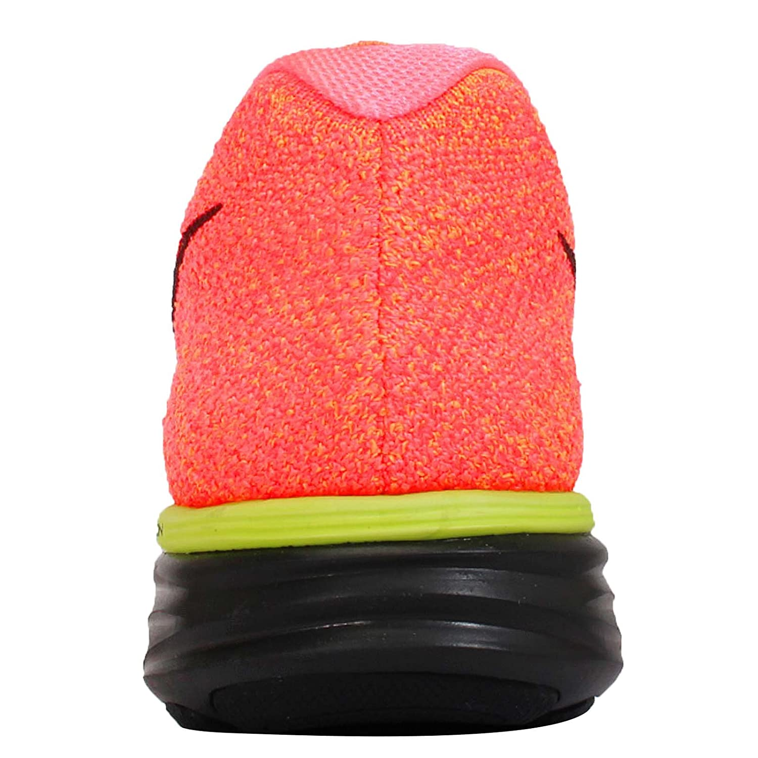 sports shoes 0086d a7985 ... greece amazon nike flyknit lunar 3 mens hot lava black volt laser  orange running sneakers shoes ...