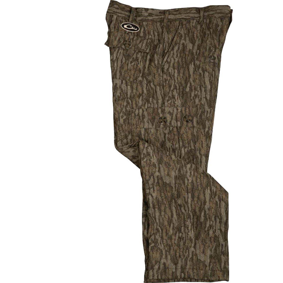 Drake Youth MST Windproof Bonded Fleece Pant Mossy Oak Bottomland 16 by Drake