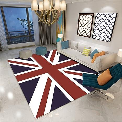 Amazon.com: Alfombra de decoración de salón con bandera ...