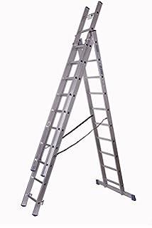 Extrem Seilzugleiter 2x22 NEU XXL 11,10m Aluleiter Leiter mit Seilzug XA69