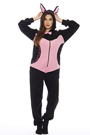 Amazon.com  Just Love Sexy Bunny Adult Onesie Pajamas  Clothing 18bd4052f