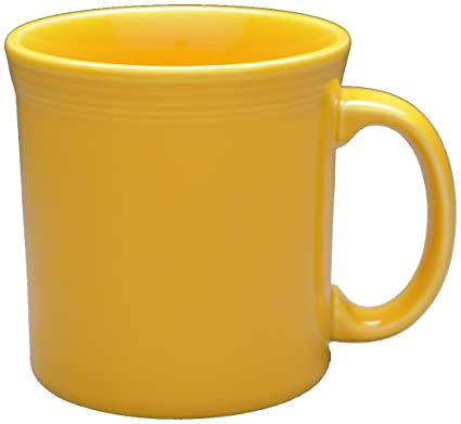Amazon.com | Fiesta 12-Ounce Java Mug, Marigold: Coffee Cups & Mugs