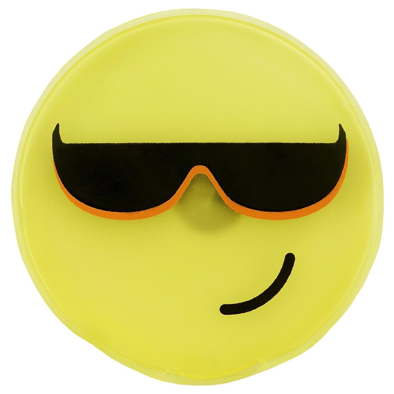 Lot de 2 chauffe-mains r/éutilisables heizpad firebag jaunes de smileys