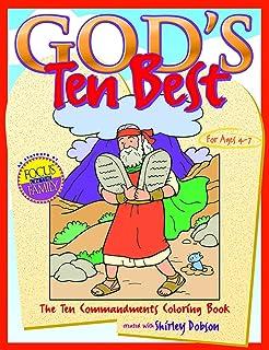 gods ten best the ten commandments coloring book coloring books
