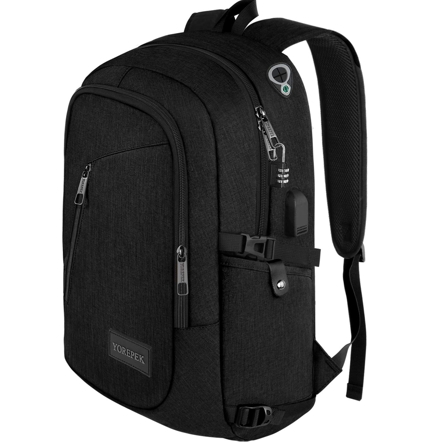 VENTCY College Backpack for Women and Men Casual Backpack Laptop 15.6 Unisex 23L