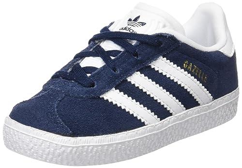 gazelle adidas bambina blu