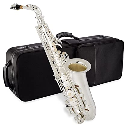 Jean Paul USA AS-400SP Student Alto Saxophone, Silver