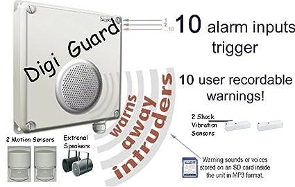 L4L - SENSOR de movimiento PIR OFF activada por Intruder de voz/AUDIO a los