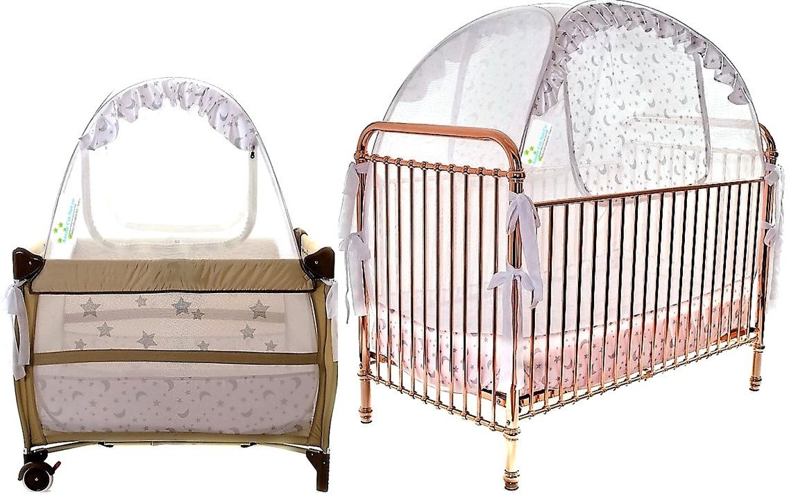 Best Baby Crib Tent and Portable Crib Tent Bundle Tried and Tested - Safe and Secure - Proven to Keep Your Baby Safe from Climbing Out. Finest Quality Original Australian Design Pop Up Crib Canopy