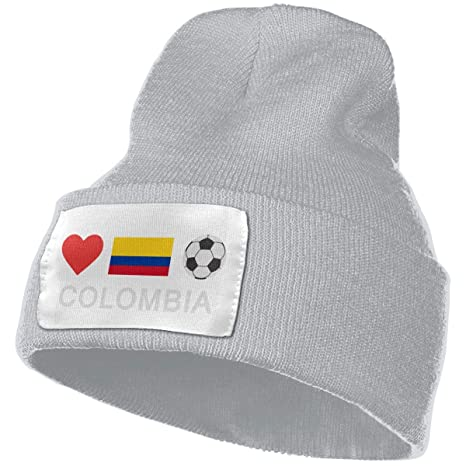 602ebcdd922734 Amazon.com: Unisex Colombia Football Colombia Soccer Beanie Hats - 100% Acrylic  Winter Warm Skull Knit Cap: Clothing
