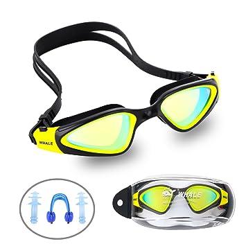 Gafas de natación, Ejia Tech Anti-Fog Protección UV Gafas de natación polarizadas con