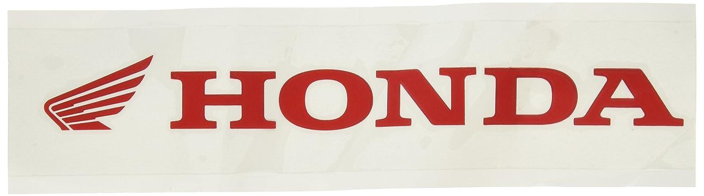 Factory Effex 06-94354 Red 5 Honda Die-Cut Sticker