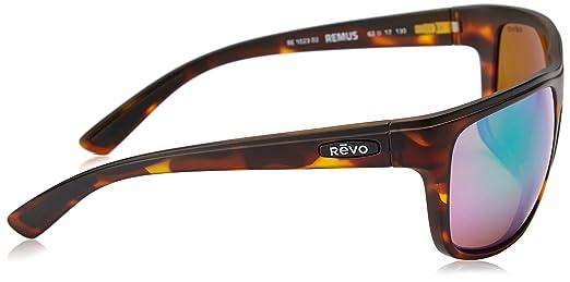 0cf8d08433 Revo RE1023-02GN RE1023 Remus Matte Tortoise - Green Water Polarized  Sunglasses  Amazon.co.uk  Clothing