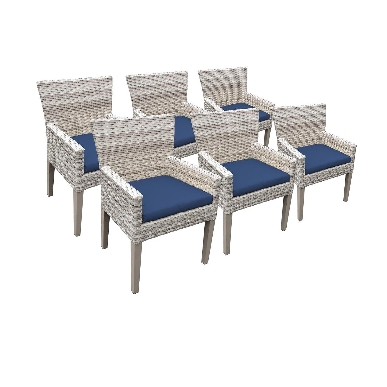 Amazon.com: TK Classics Fairmont – Juego de 6 sillas de ...