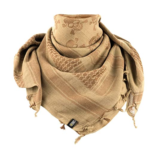 Shemagh - Military Tactical Desert Head Scarf Neck Wrap Keffiyeh (Coyote  Brown) 746d7fa6702