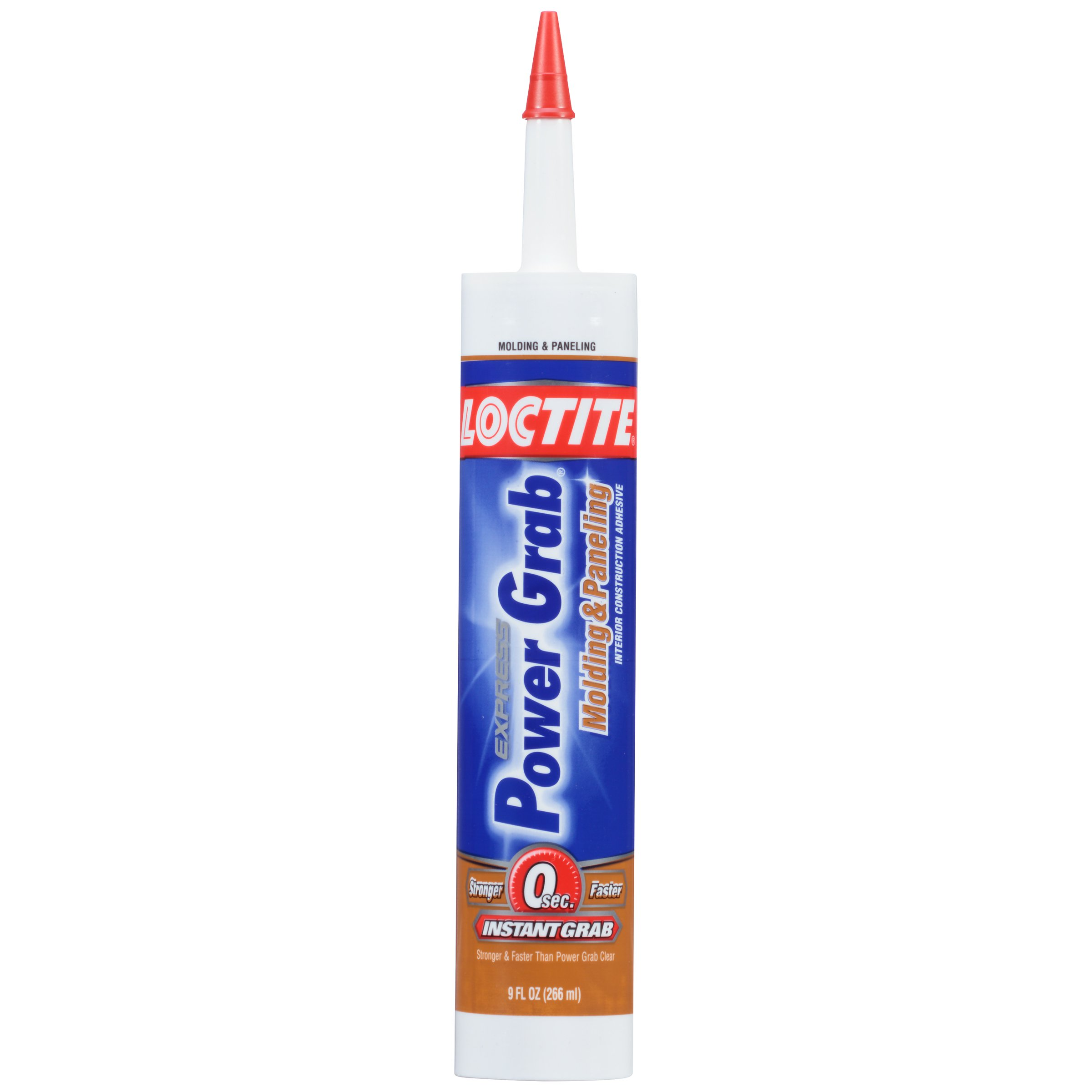 Loctite Power Grab Express Molding and Paneling Construction Adhesive, 9 Ounce Cartridge (2023759)