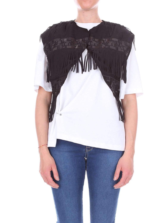 Numero00 Women's 2351BLACK Black Viscose Vest