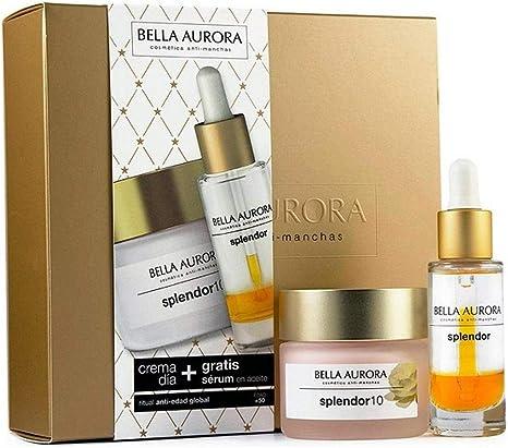BELLA AURORA Splendor 10 Dia Lote 2 Pz, 100 ml: Amazon.es: Belleza