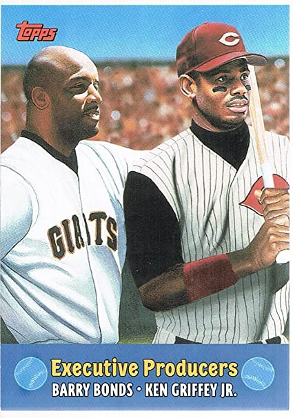 521864b06c 2000 Topps Combos #TC8 Executive Producers Ken Griffey Jr./Barry ...